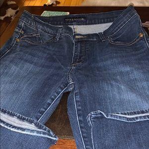 "Rock and Republic size 12 30"" inseam stretch jeans"